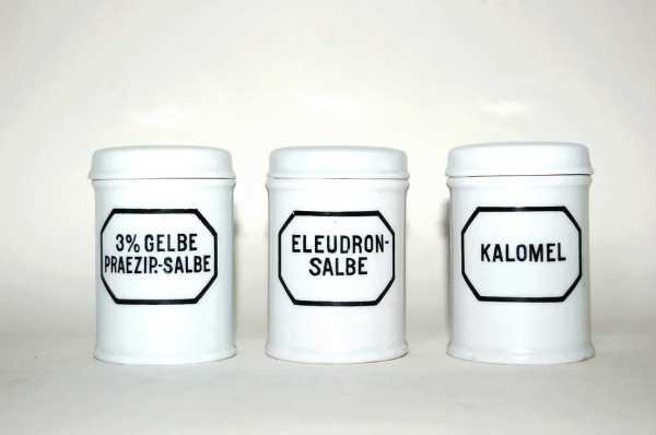 pharmacy porcelain pot